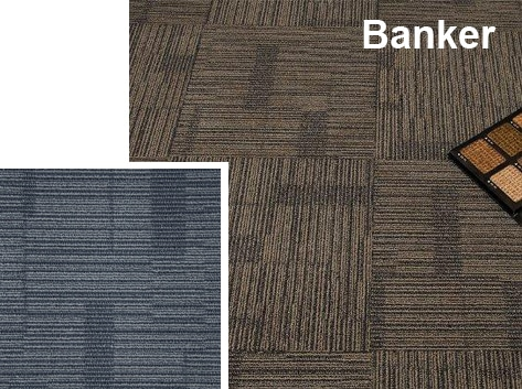 Alfombras Modulares Banker